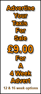 Advertise your Taxi £7.00 for 4 WEEKS Taxisales.net